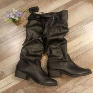 Time and Tru Comfort Sock Boots (NWOT)